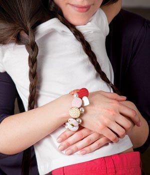 A Sweet DIY Mother's Day Gift: Custom Charm Bracelet