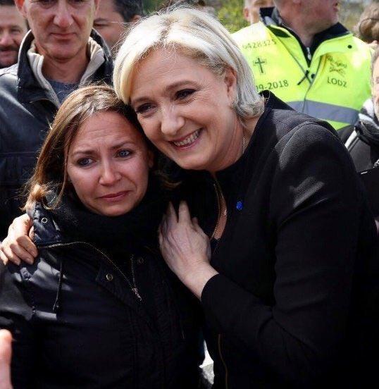 Mercredi 26 avril. L'indignité de Le Pen révélée au plus grand nombre avec l'instrumentalisation de la détresse ouvrière pour la com