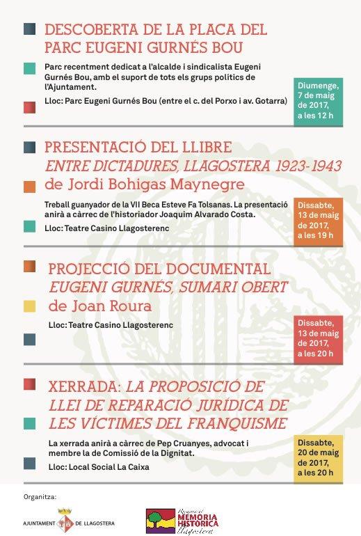Resultat d'imatges de Entre dictadures, Llagostera 1923-1943