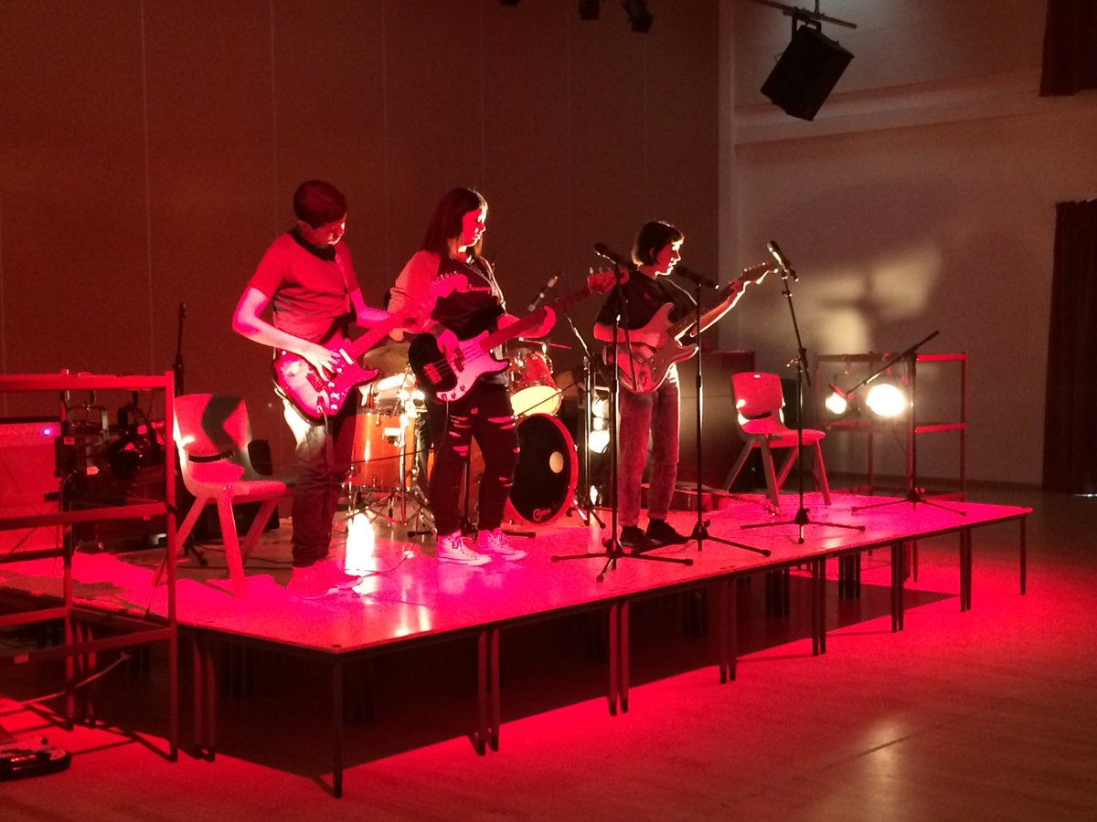 Rodillian Battle of the Bands showcasing student talent from Applied Resilience & Crewing courses! #resilience #arts