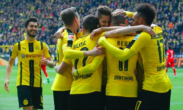 RECORD: Borussia Dortmund are the first team in DFB-Pokal history to r...