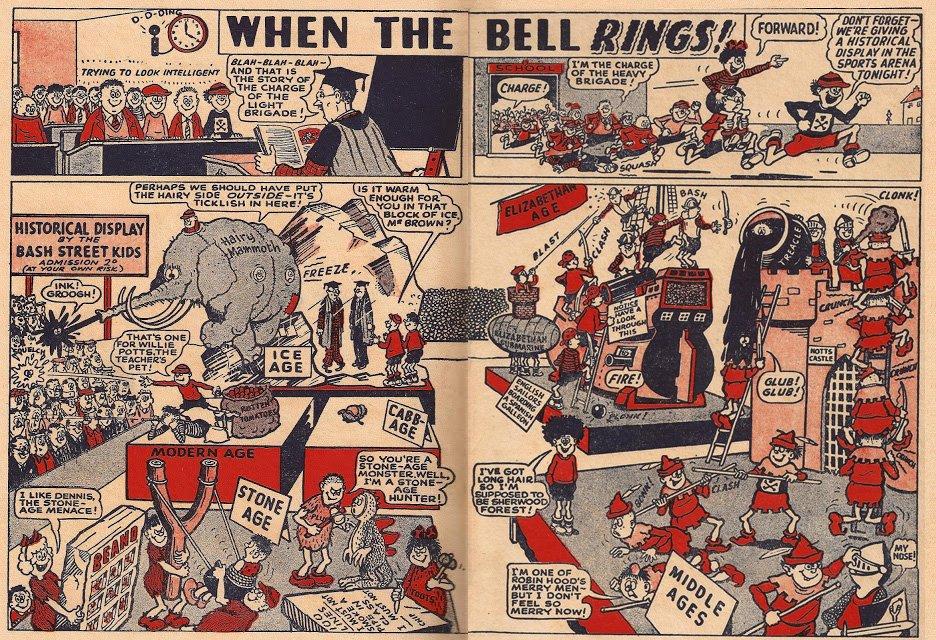RIP Leo Baxendale, god of British kids' comics. https://t.co/rB2ZbYFj8l