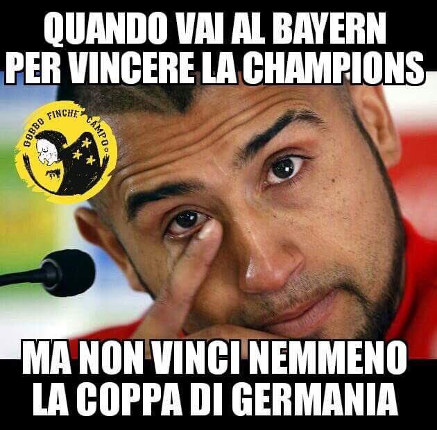 Semifinale Coppa di #Germania: #Bayern - Borussia #Dortmund 2-3   #OPS...