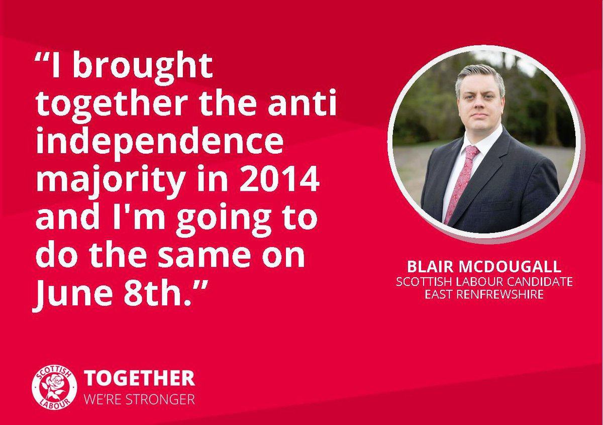 Image result for picture Blair McDougall campaign leaflet East Renfrewshire