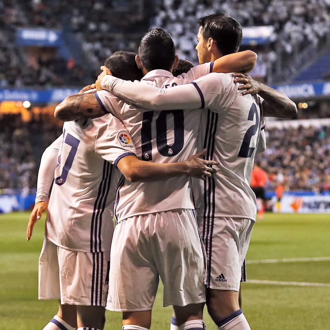 ⚽️⚽️⚽️ 2-6: El Madrid golea en Riazor  https://t.co/GC3R2uR78l  #RMLig...