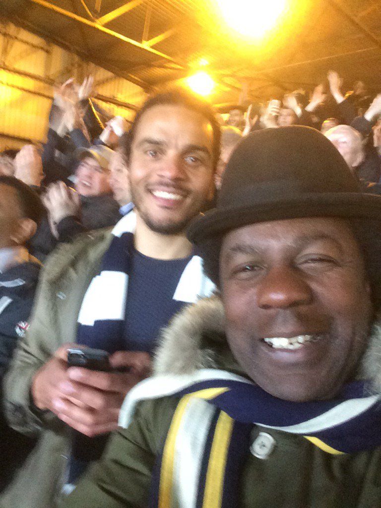As you can plainly see it was a VERY enjoyable night at #SelhurstPark tonight #cpfc 0 #THFC 1 #3pts #COYS https://t.co/zKgbMLdsD9