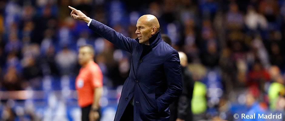 🗣💬 #Zidane: 'Estoy contento por la actuación y los goles de todos'  ht...