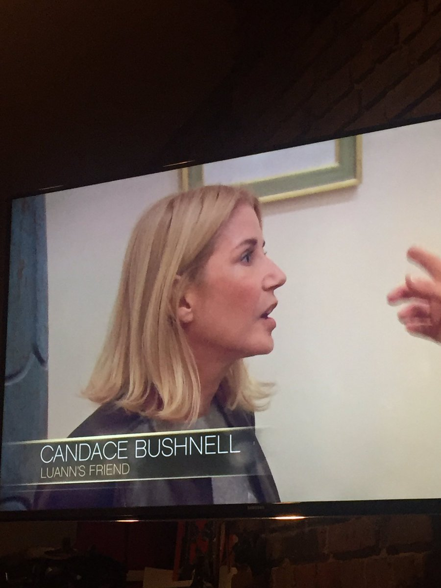 Candace Bushnell Laura Stampler On Twitter Candace Bushnell Luanns Friend