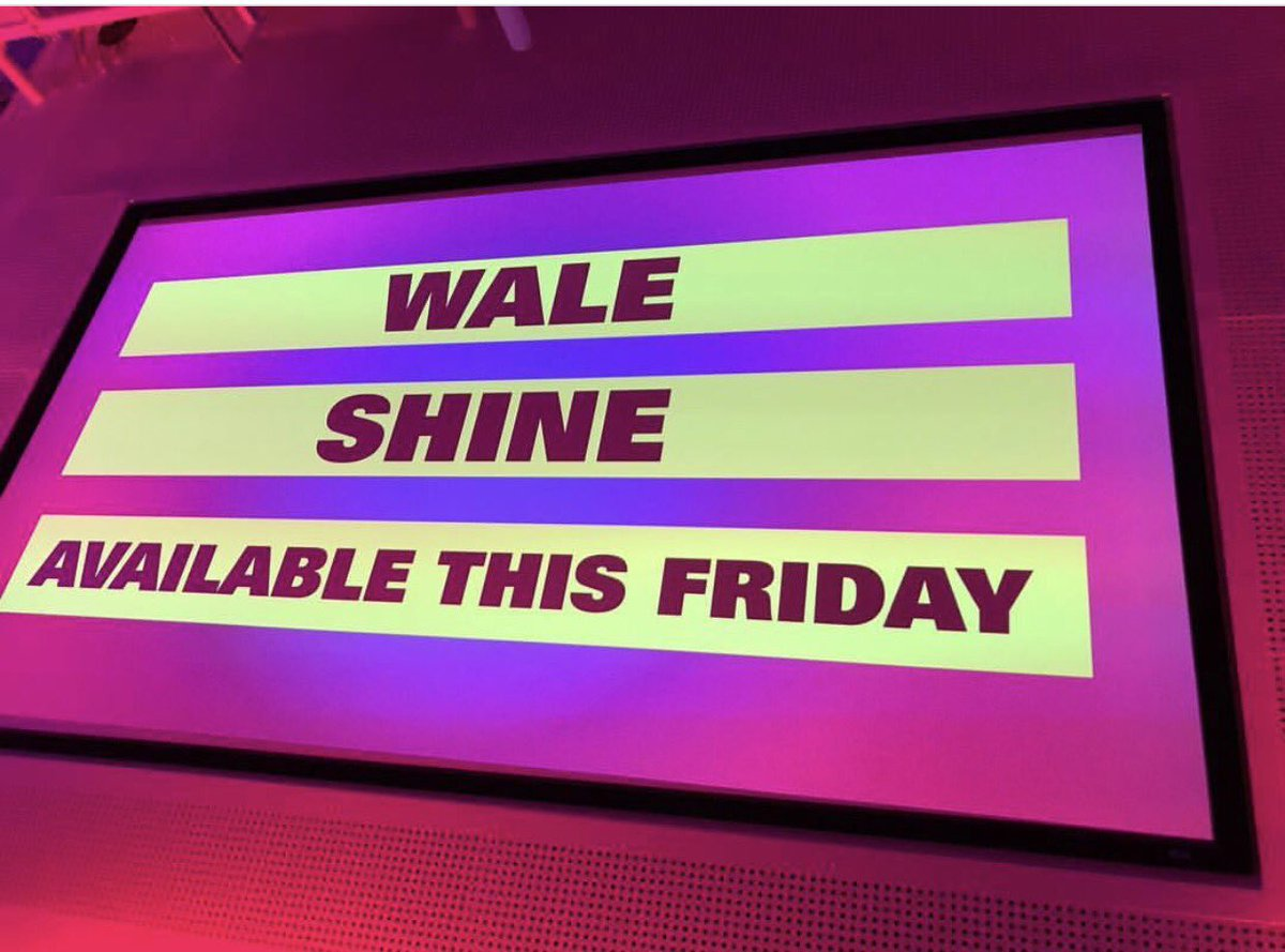 #shine available tomorrow nite. @Wale @MaybachMusicGrp https://t.co/Fn...
