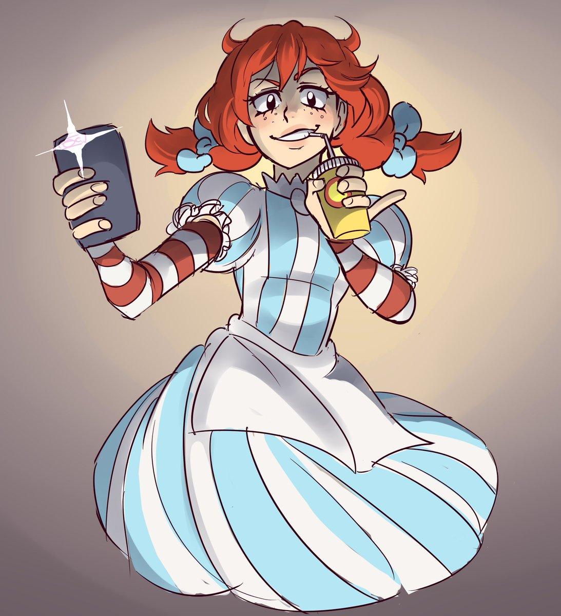Wendys Anime Girl