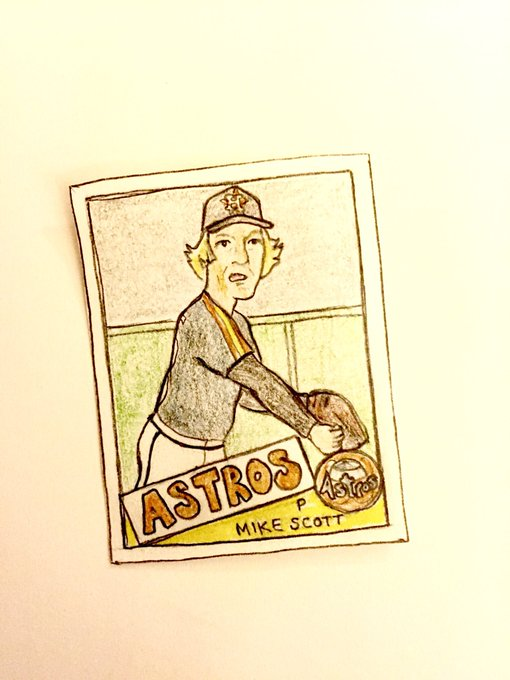 Wishing a happy 62nd birthday to 1986 NL Cy Young Mike Scott!
