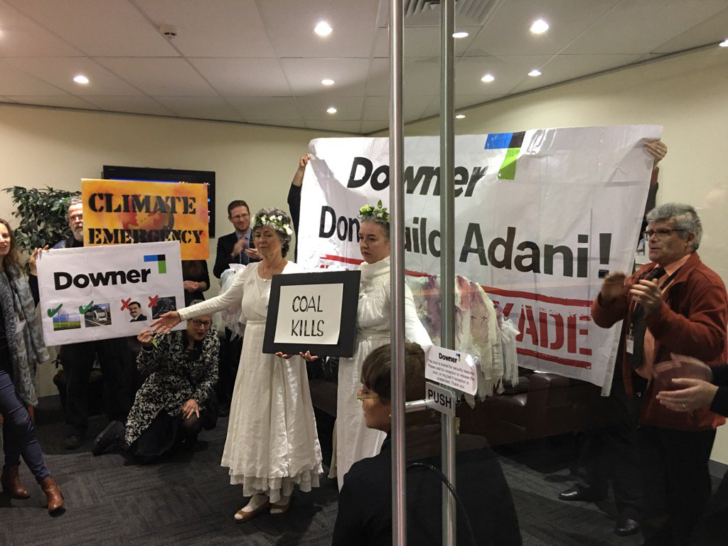 Downer group's reputation will be dragged through mud by association with Adani. Opposition will only grow! https://t.co/WHkbGIx0CN