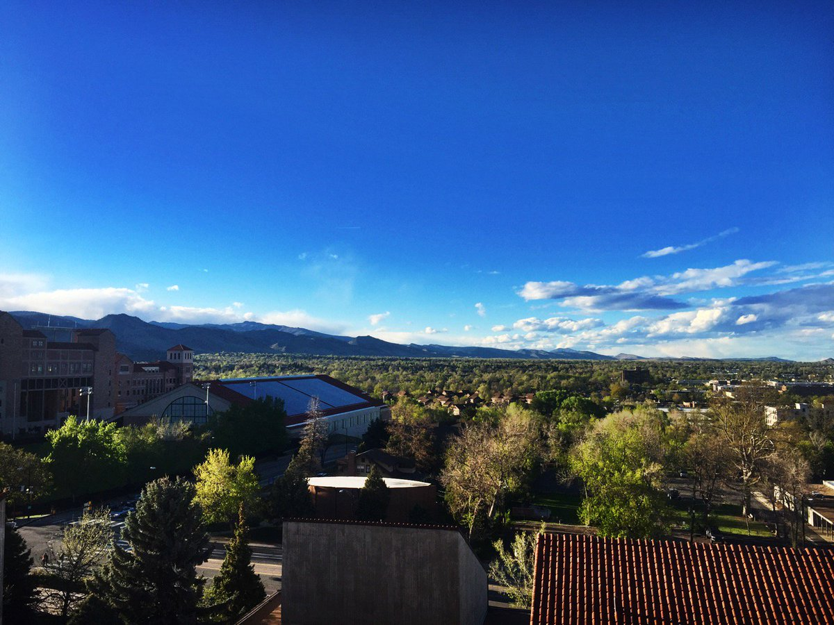 Hanging at our weekly meeting to make this kickstarter even more of a success... and we have quite the view! #buffs http://bit.ly/mutag2017