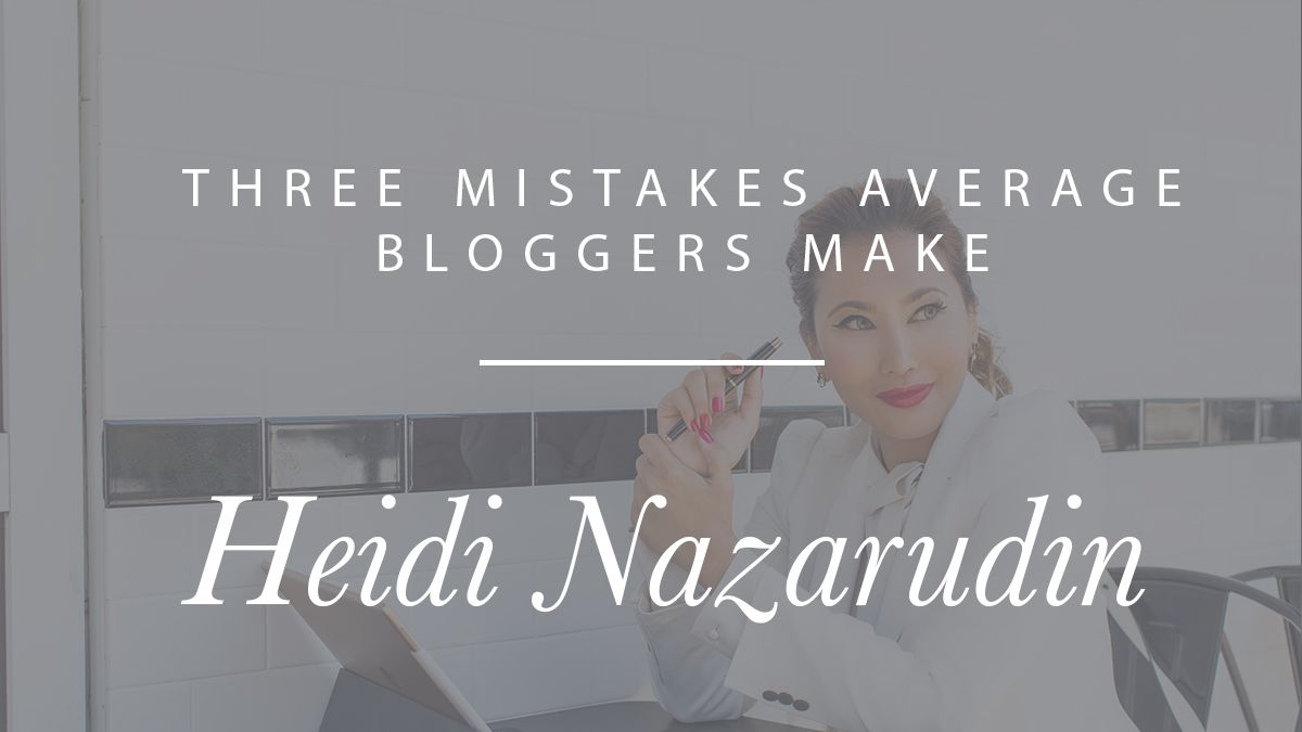 Learn from @heidinazarudin what NOT to do for a successful blog. https://t.co/cvPaKQ0wyE https://t.co/oCPaHyTpL9