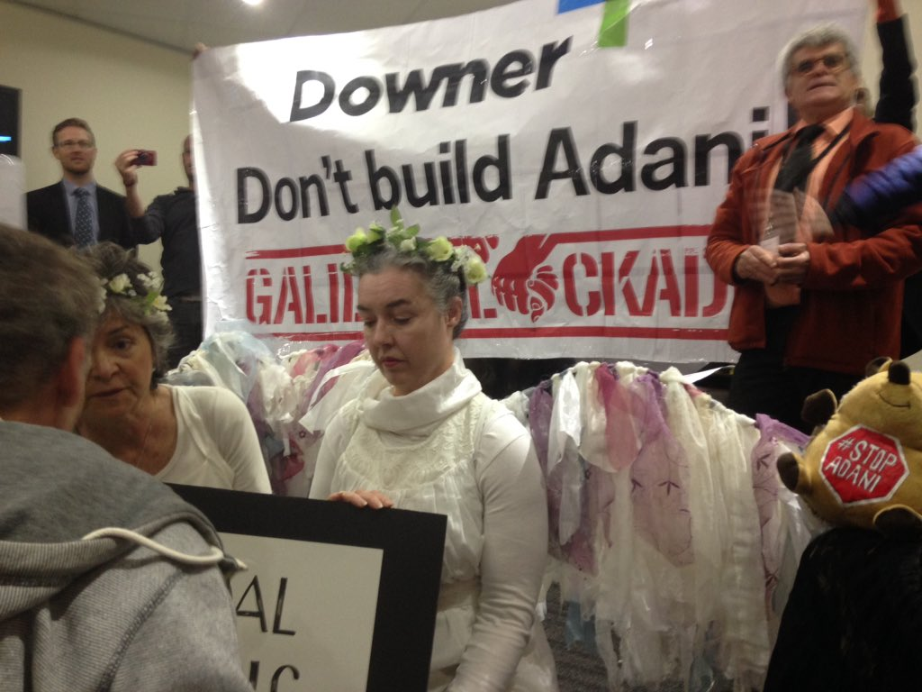 #stopadani dud coal mine CO2 monster. Lockon in process. We wont take it @westpac @downergroup There r 10000s of us @lenoretaylor https://t.co/VX21a9Or7b