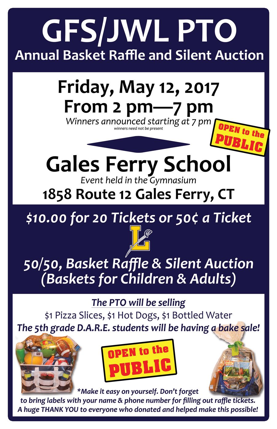 Join us for our annual basket raffle. #gfsjwl https://t.co/W2wYTB53iz