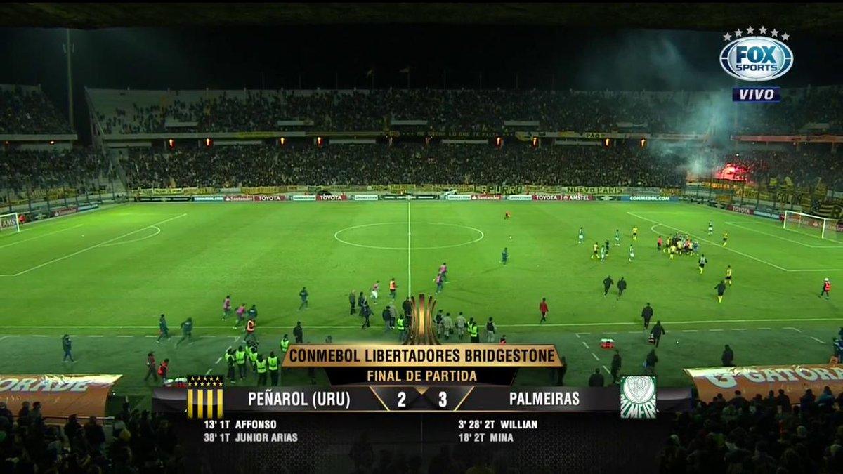 🐷 CENAS LAMENTÁVEIS NA #LibertadoresFOXSports. Confusão generalizada no Uruguai!