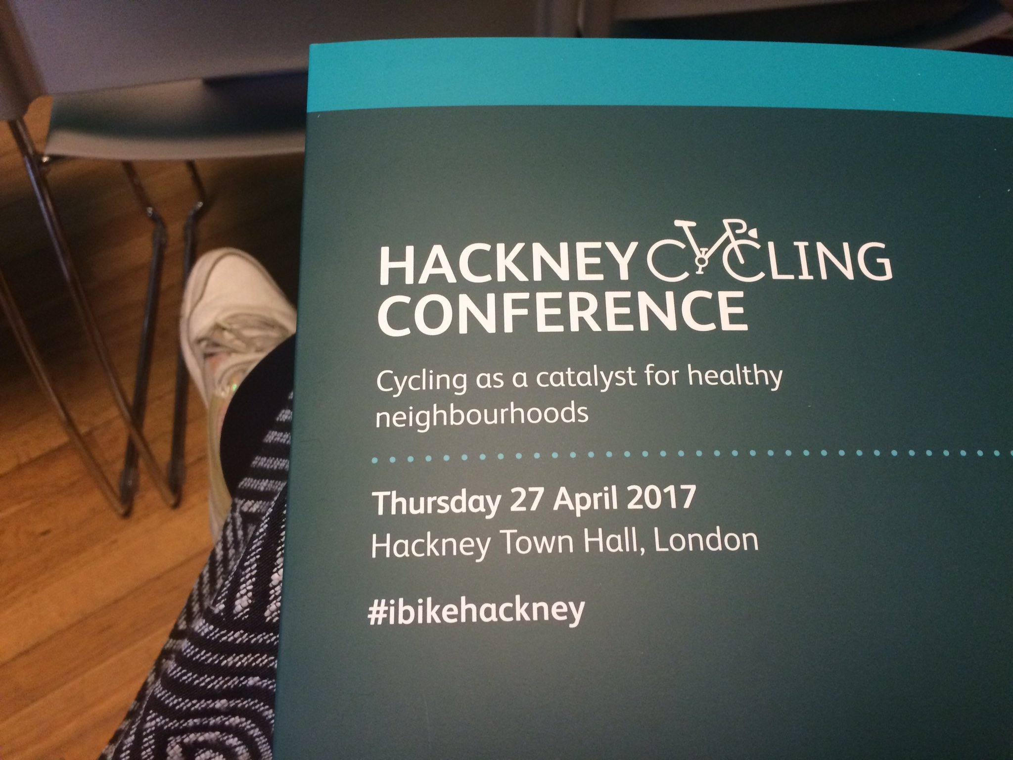 It's this time of the year again! Hackney Cycling Conference is a go! #ibikehackney https://t.co/IThlBV59EJ
