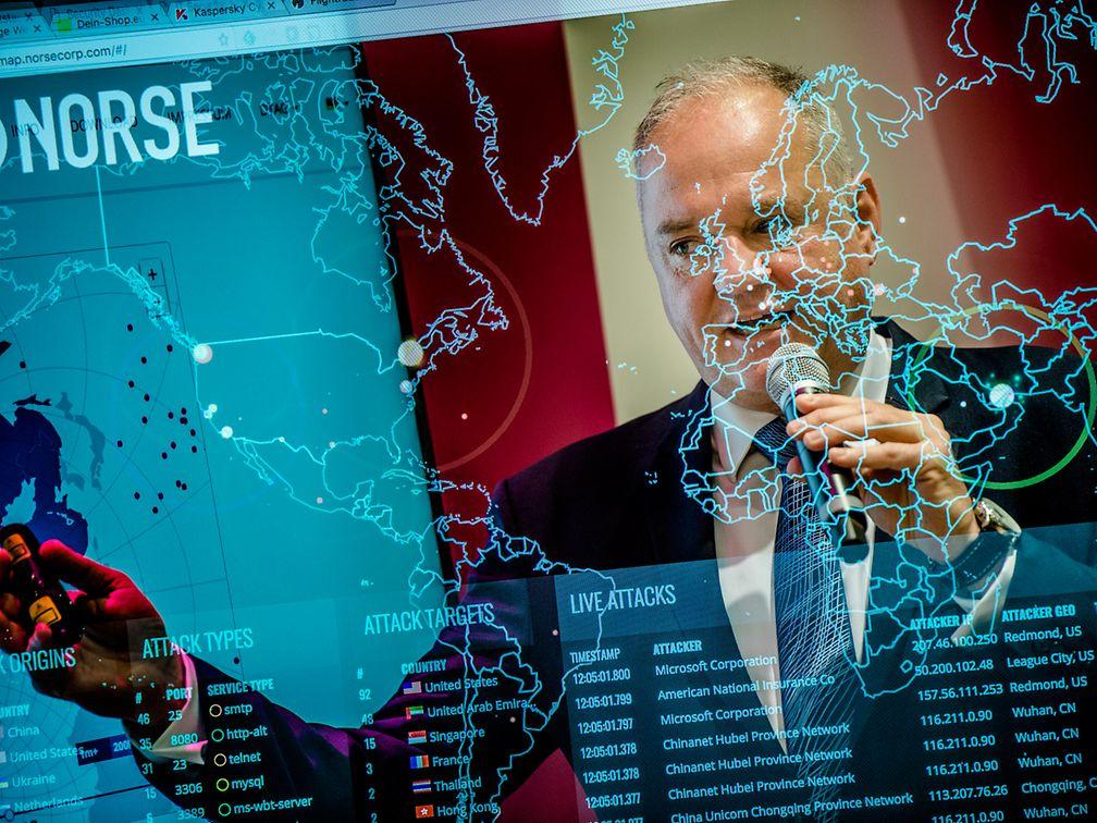 Social Media Post: Bernd König @kingburnie #TSystems bei seinem Vortrag zum...