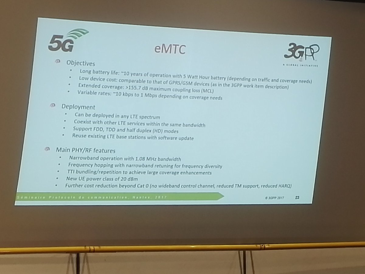 New extention of LTE ,for #iot : nb-iot and emtc. @3GPPLive want 10 ye...