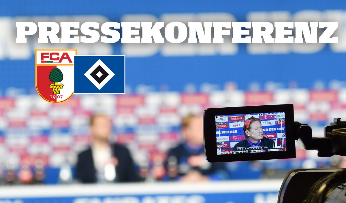 🎥 Die Pressekonferenz vor #FCAHSV heute live ab 13 Uhr auf unserem fac...
