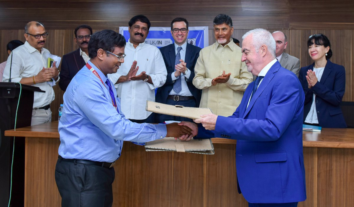 AP has signed an MoU with British Council to provide quality education & improve English language proficiency for 100,000 college students.
