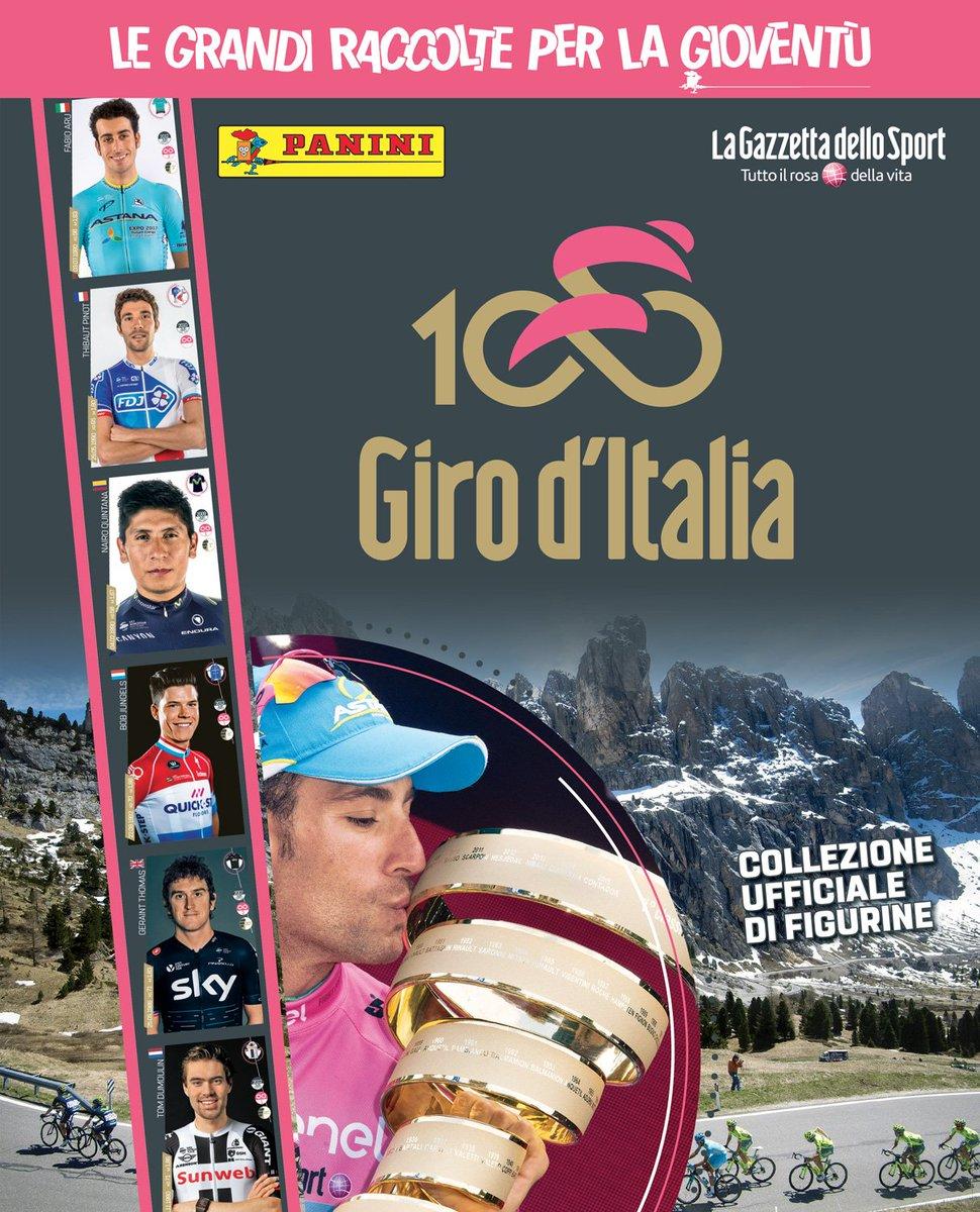 Giro d'Italia 2017, è Figurine Panini mania