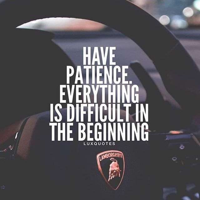 """Car Quotes For Instagram Bio: Kathy GXT 🌹 On Twitter: """"HAVE PATIENCE. EVERYTHING IS"""