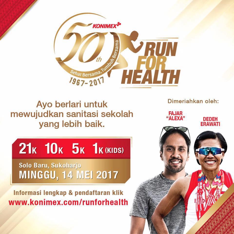 Konimex Run for Health • 2017