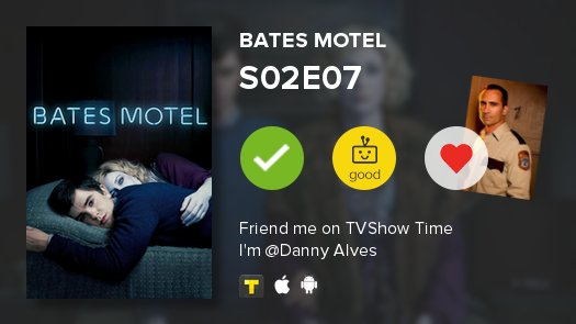 #batesmotel S02E07 Presumed Innocent Good tvshowtime.onelink.me/3966595826?af_…