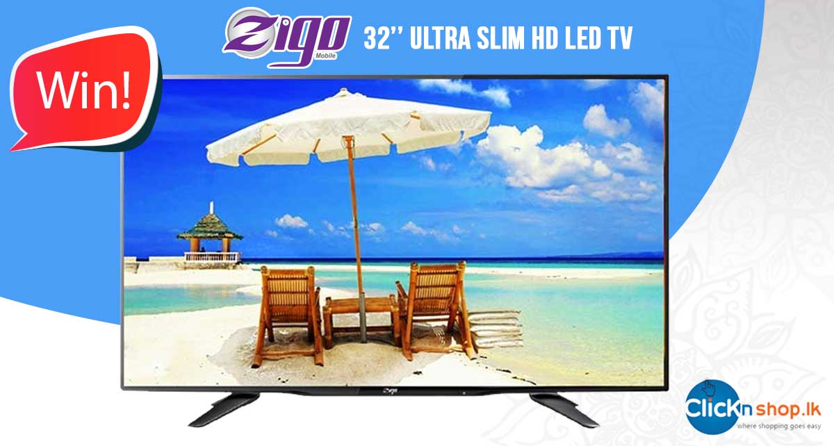 Check our FB page to see how you can win this Ultra Slim 32 inch Zigo TV worth Rs.26,990! Click : https://t.co/XF2MpFZs1V https://t.co/94K8AKEvys