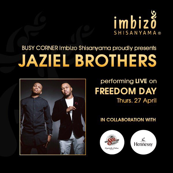 Let's celebrate #FreedomDay together at @BusyCornerJHB