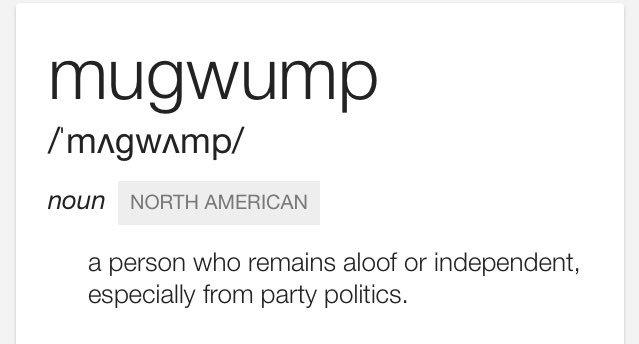 "Boris Johnson has called Jeremy Corbyn a ""MUGWUMP"". In case you were wondering... https://t.co/tRr2goNBDs"