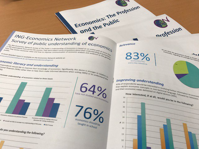 Looking forward to our Economics: The Profession and the Public event tomorrow & presenting our #UnderstandingEcon survey results! https://t.co/Pip4tgV2Od