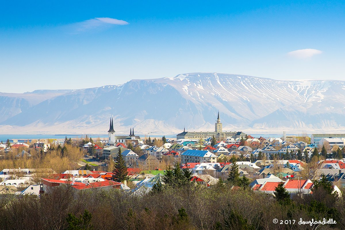 View of Reykjavic from Perlan