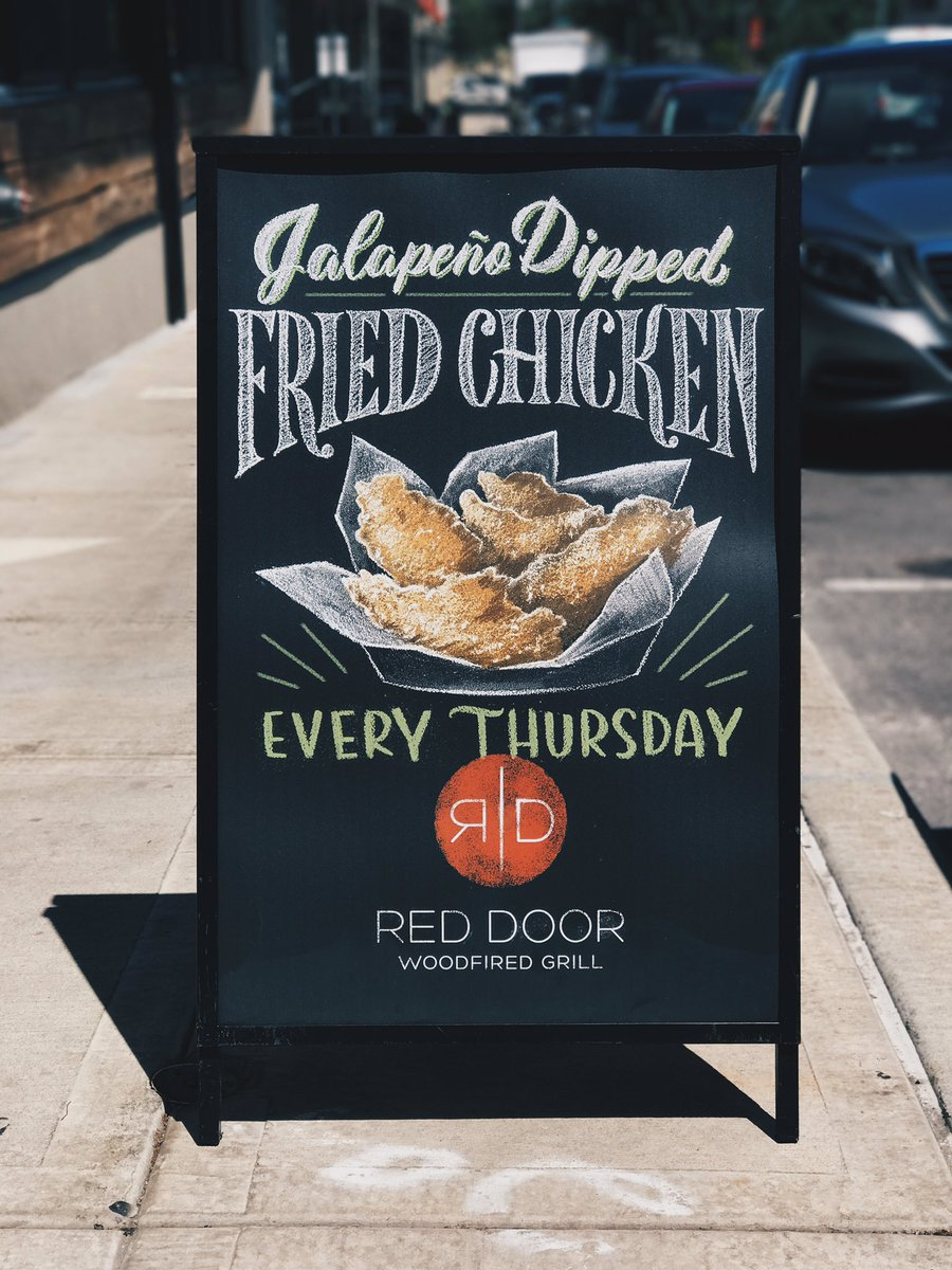 Red Door Grill On Twitter You Know The Drill Getinhere