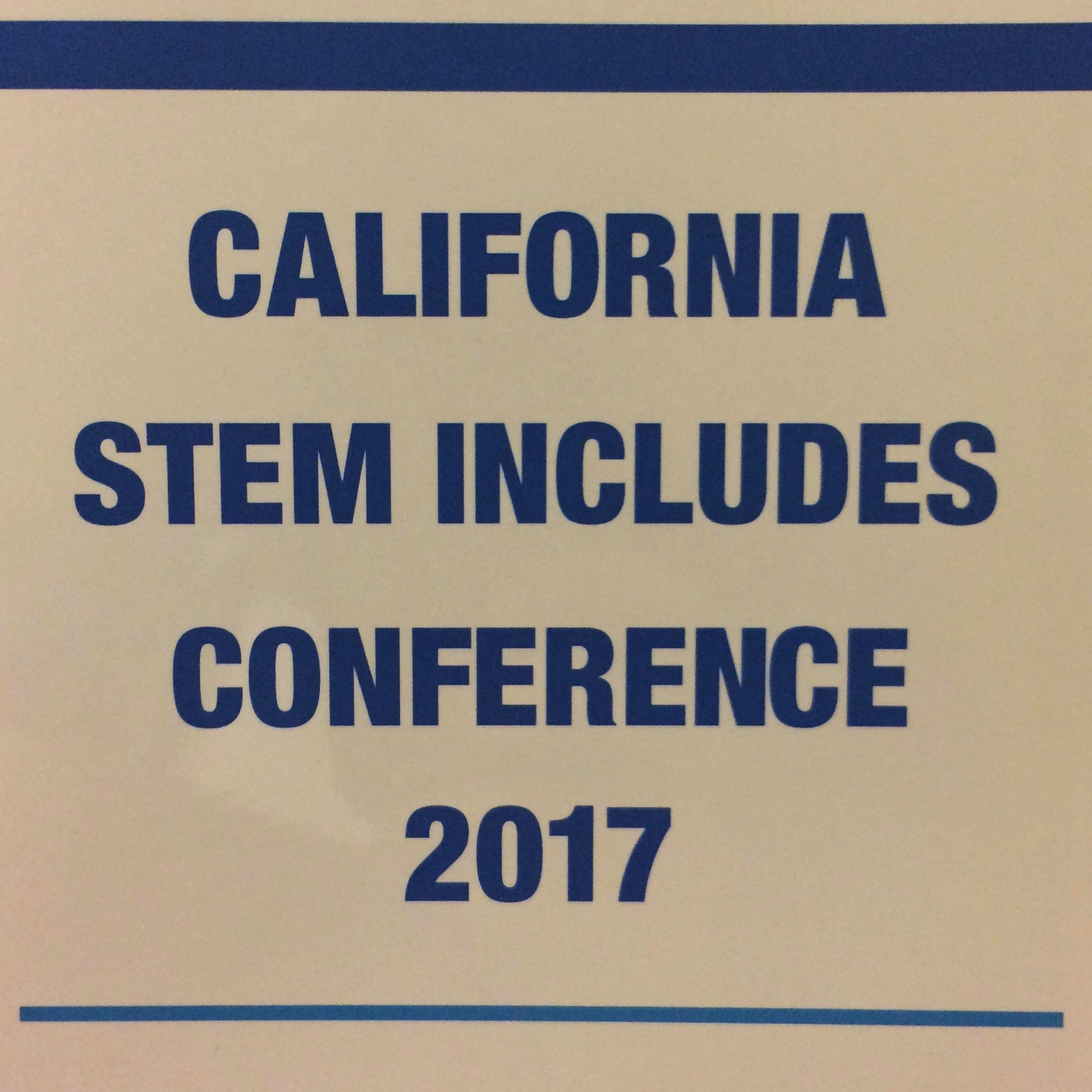 attending @UCirvine hosted @NSF #CSIC17 California Stem Includes Conference https://t.co/sZvG6R7XTd https://t.co/N5RU2QEfH0