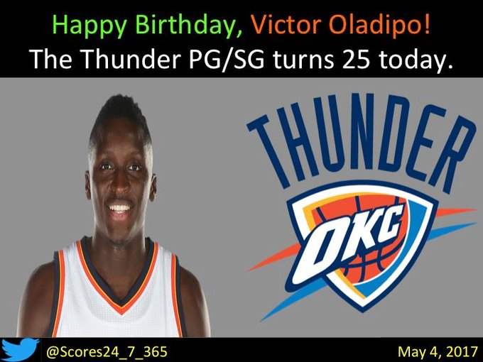 Happy birthday Victor Oladipo!
