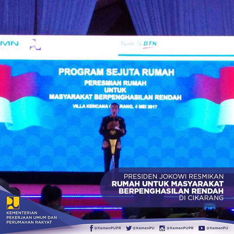 Jokowi Pastikan Bangun Rumah Murah di Seluruh Indonesia