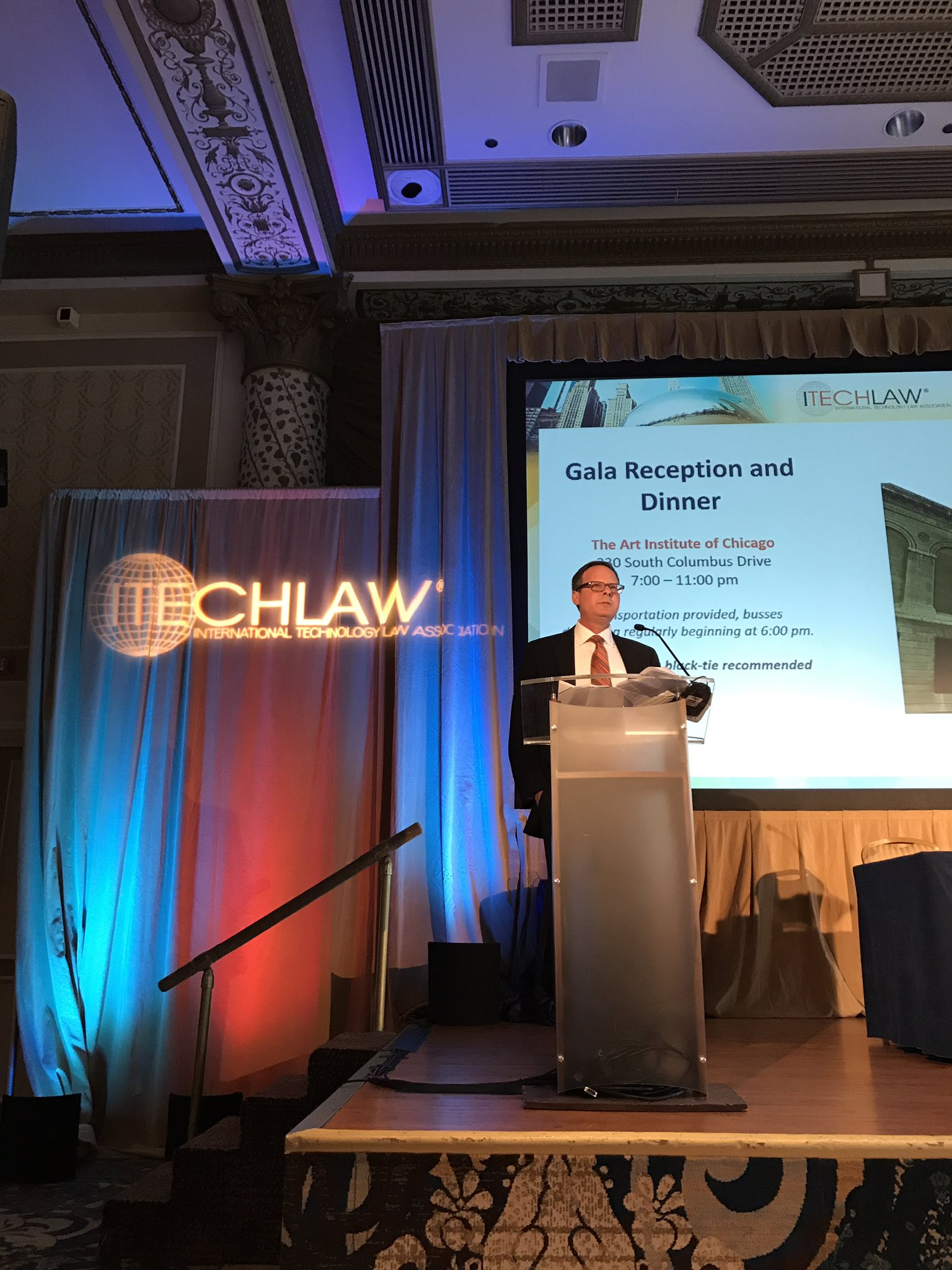 Rob Weiss @NGE_Law  is opening the #ITLChicago conference! Welcome to all 260 attendees! https://t.co/0DrI4HVNvD