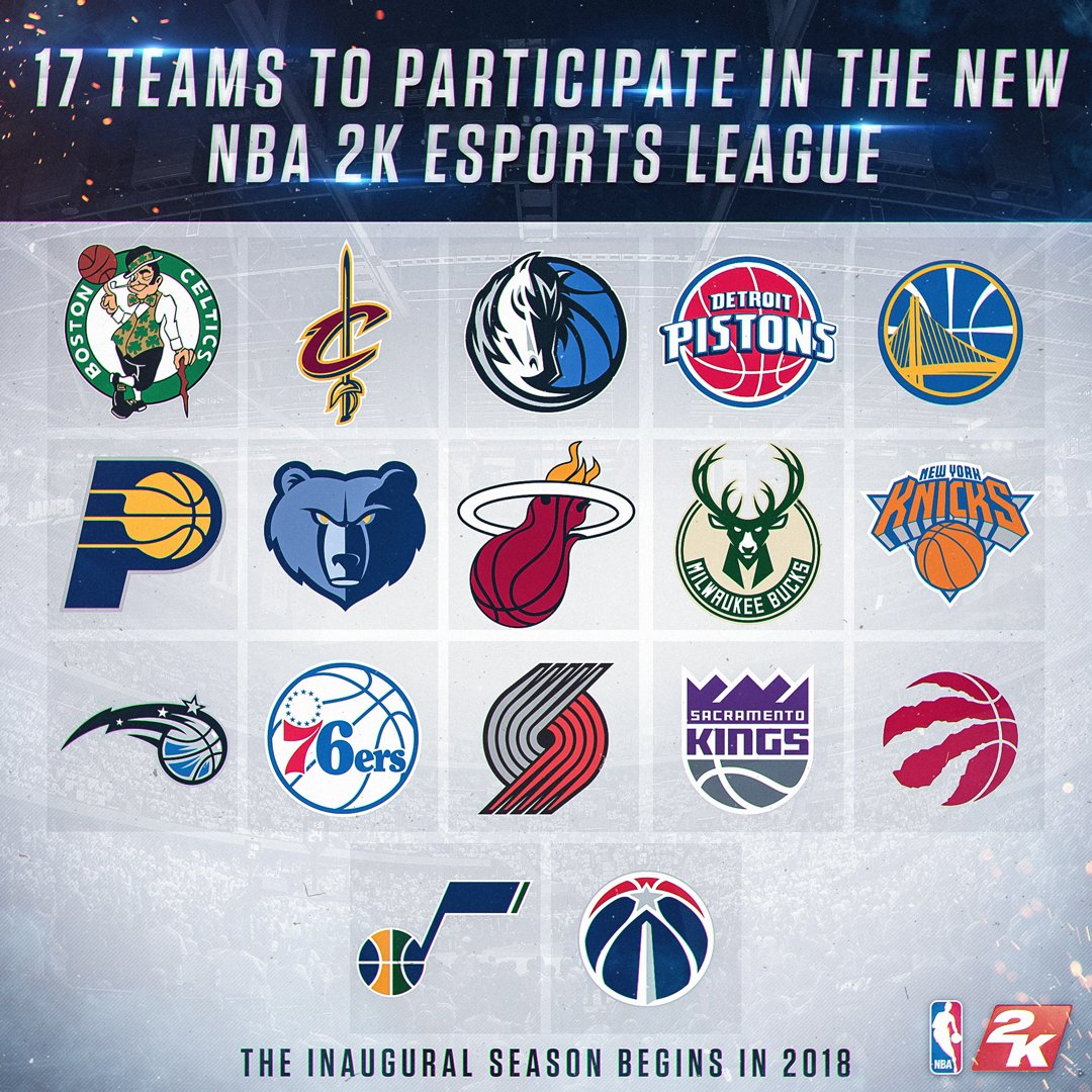 "NBA On Twitter: ""The NBA 2K Esports League Announced Today"