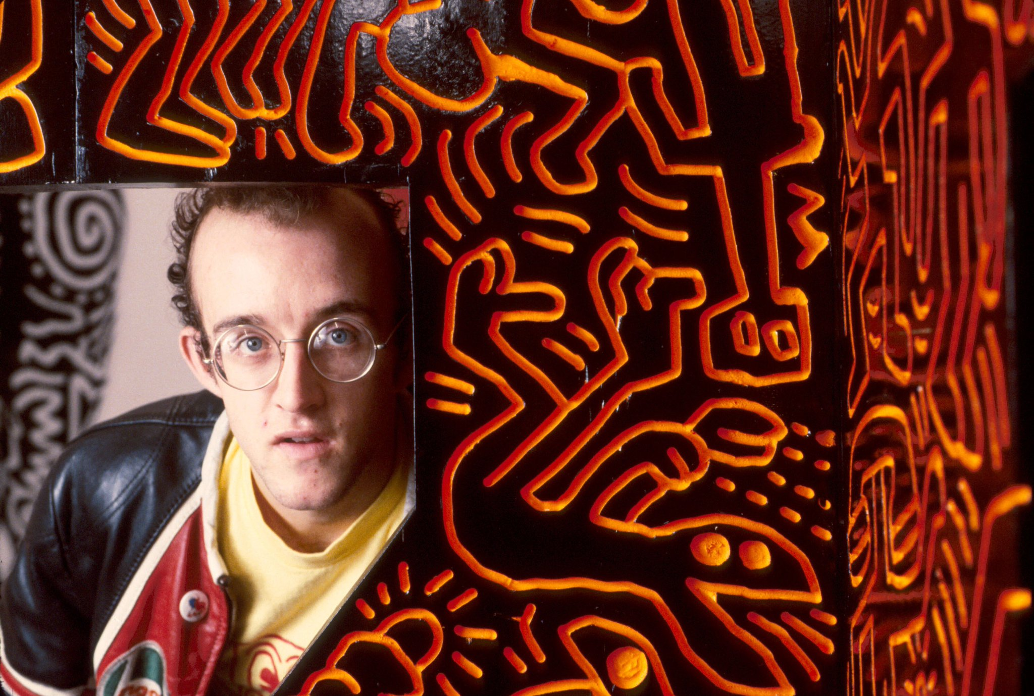 Top story: \Happy birthday to Keith Haring, an activist and an a see more