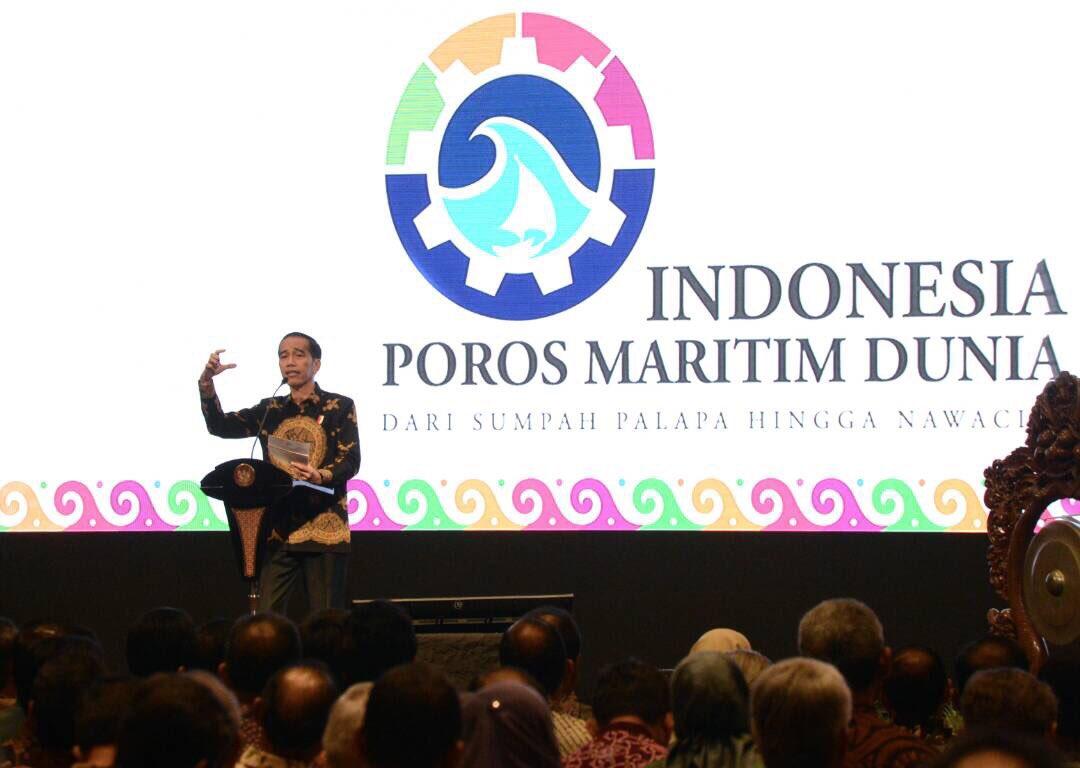 Presiden Jokowi Resmikan Tiga Pelabuhan di Maluku Utara