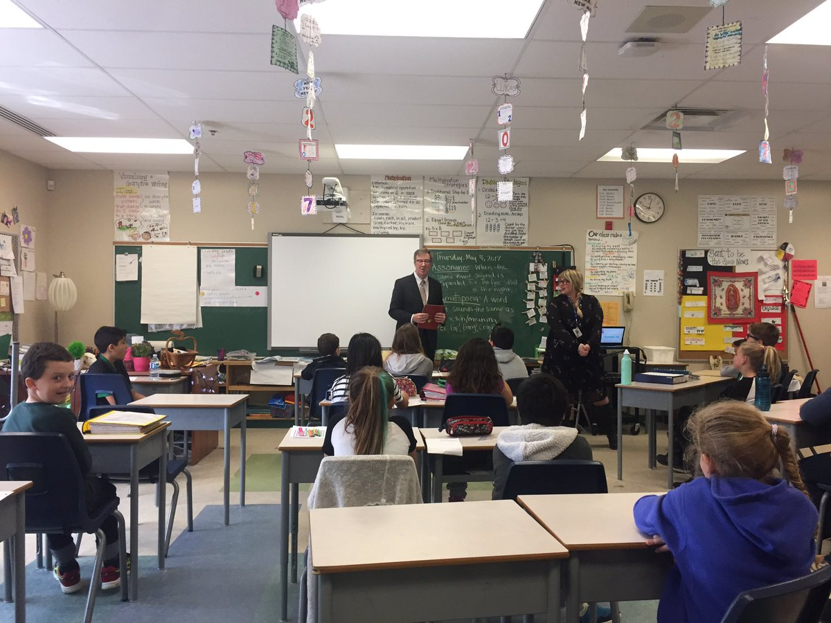 Jim Watson On Twitter Nice To Meet The Grade 5 Class At St Emily Catholic School In Barrhaven Fun Talking About Ottawa And So Many Great Questions