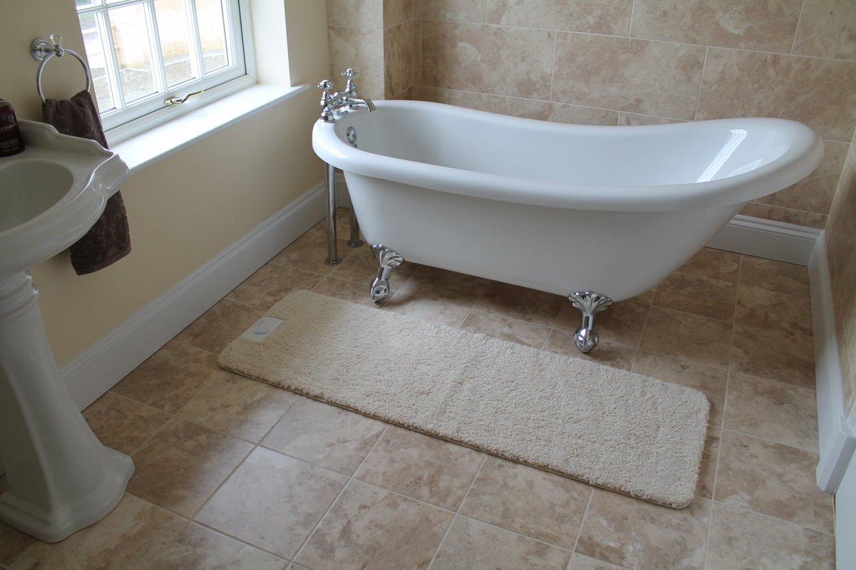 new soft luxurious bath runner mats to compliment your curved shower mat are now