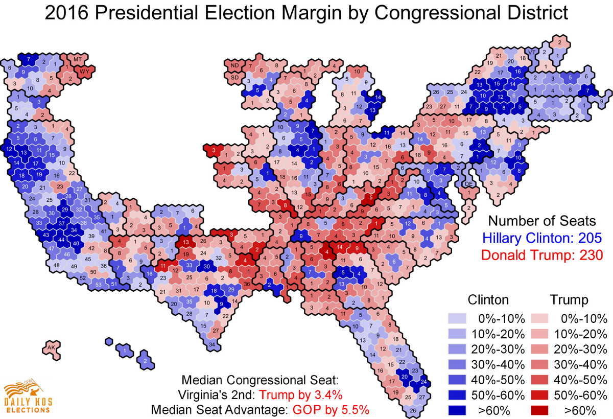 Stephen Wolf On Twitter These House Rs Hold Seats Where Trump - Us map by congresina lolelection results