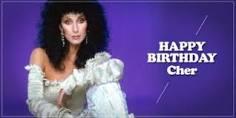 Happy birthday, Love Cher &