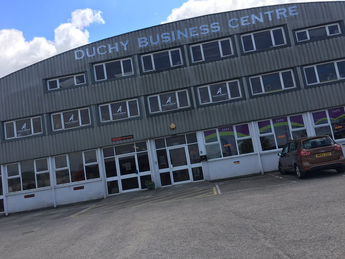 Lots of interest from businesses at the Duchy Business Centre #TownTak...