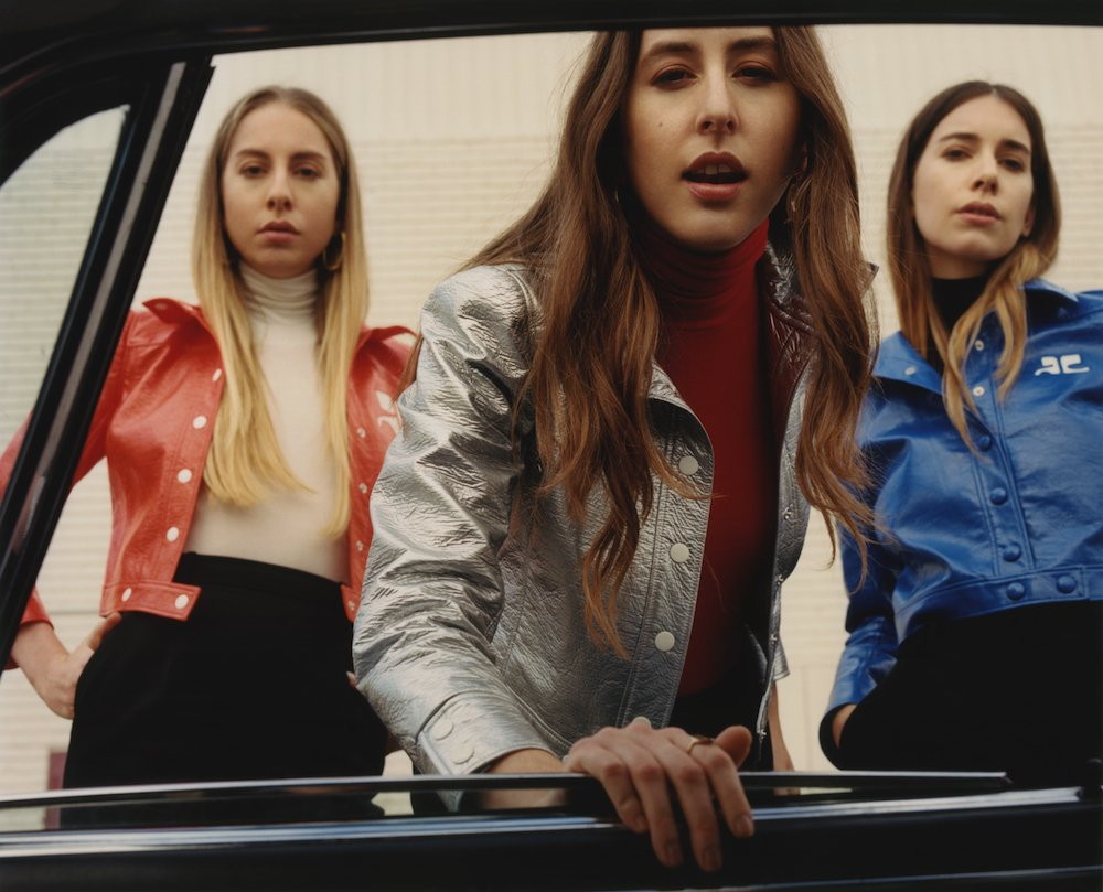 .@HAIMtheband ...and Haim's second album - 'Something To Tell You' - i...