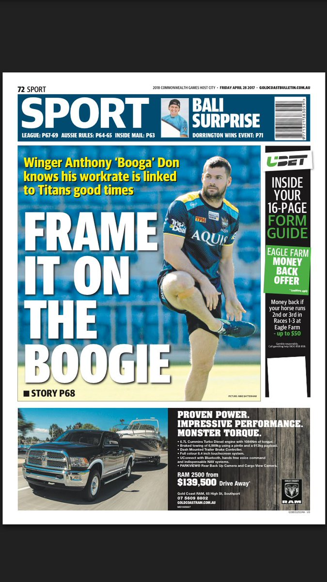 Back page gold coast